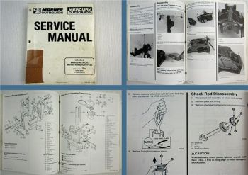 Mariner Mercury 40 / 40 Magnum 4 Cylinder Outboard Service Manual 1992