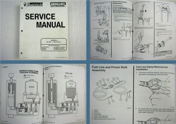 Mariner Mercury 30 Jet 40 4 Cylinder Outboard Service Manual 1996