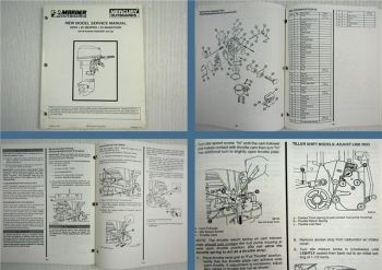 Mariner Mercury 20 25 Seapro Marathon Service Manual 1994