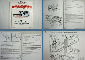 Mercruiser Gasoline Stern Drive Bravo and Blackhawk Series Maintenance Manual