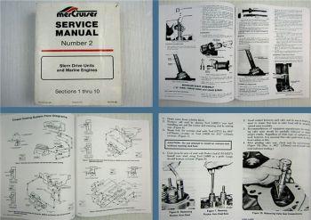 Mercruiser Stern Drive Units & Marine Engines Service Manual 1986