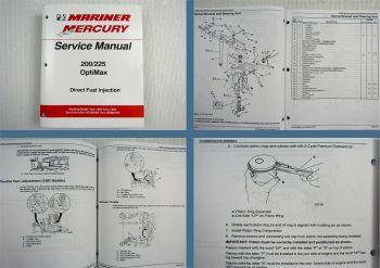 Mariner Mercury 200 250 OptiMax Direct Fuel Injection DFI Service Manual