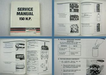 Force Outboards 150 HP Service Manual 1990