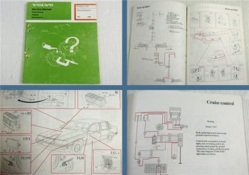 Volvo 760 Section Wiring Diagrams Service Manual Maintenance Repair 1988