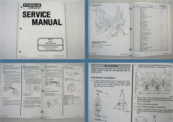 Force Outboards Model 25 HP 1996 and Newer Service Manual 1997