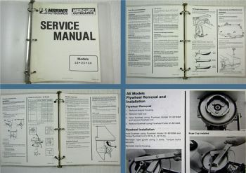 Mariner Mercury Outboards 2.2 2.5 3.0 Service Manual 1990