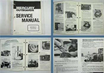 Mercury Outboards 3.5 3.6 Service Manual 1983