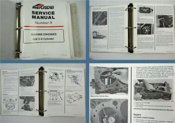 Mercruiser GM V8 305 bis 540 Engines Service Manual 1987