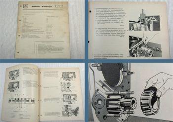 Werkstatthandbuch Henschel AK6-70-3 in HS 14 15 16 19 22 26 Montageanweisung