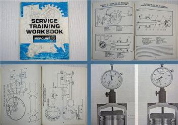 Mercury Mariner 20 25 30 50 70 90 115 140 200 220 Service Training Notebook 1983