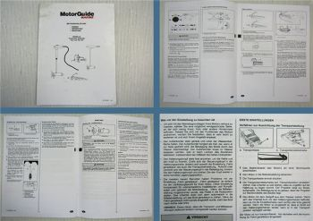MotorGuide Marine Freshwater Saltwater Tour ES Betriebsanleitung 2002
