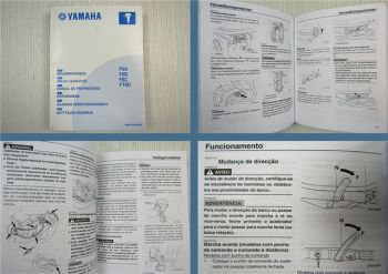 Yamaha F6A F6B F8C FT8D Manual do Proprietario 2004
