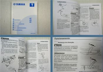 Yamaha 6C 6D 8C Manual do Proprietario 2004