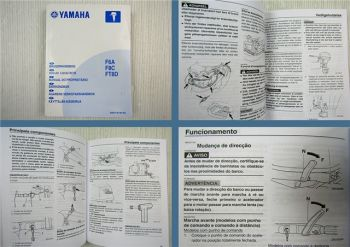 Yamaha F6A F8C FT8D Manual do Proprietario 2006