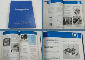Werkstatthandbuch Fortschritt E286 Feldhäcksler Reparaturhandbuch 01/1980