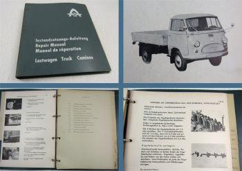 Hanomag Tempo Matador + Motor A60 Instandsetzung Werkstatthandbuch Reparatur