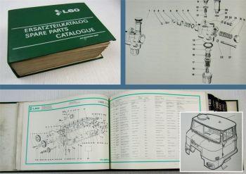 IFA L60 LKW Ersatzteilkatalog Ersatzteilliste Parts List pieces de rechange 1988