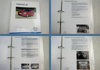 Mazda 2 Typ DY ab 2003 Modellvorstellung Produktinformation
