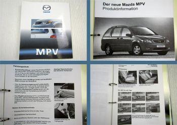 Mazda MPV II ab 1999 Modellvorstellung Produktinformation