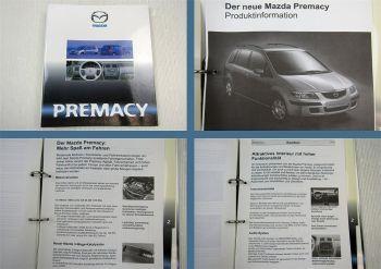 Mazda Premacy Typ CP ab 1999 Produkteinführung Modellvorstellung