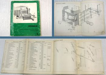 Mengele HLW 2D 3D 4D Häcksel-Ladewagen Ersatzteilkatalog Ersatzteilliste