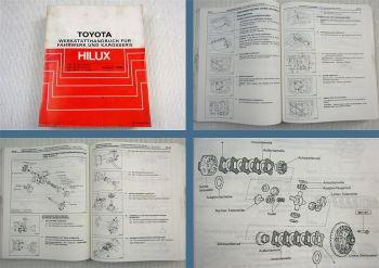 Reparaturanleitung Toyota Hilux Werkstatthandbuch ab 1988 YN80