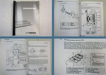 Mazda Schulungszentrum SRS Airbag und Gurtstraffer Schaltpläne 2004