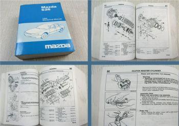 Mazda 626 MX-6 MX6 Type GE Workshop Manual Service Manual 1994 engine FS / KL