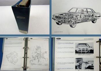 Werkstatthandbuch Ford Taunus Cortina ´80 Reparaturleitfaden ab 1979 - 1981