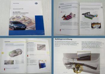 SSP 520 VW Golf 7 Typ AU Selbststudienprogramm Karosserie Insassenschutz 2013