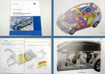 SSP 549 VW Touran II Typ 5T Karosserie Sicherheit Selbststudienprogramm 2016