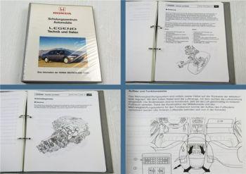 Honda Legend Typ KA Schulungshandbuch Technik Daten Kundendienst Service ab 1996