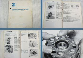 Sachs Stamo 50 75 Motor Reparaturanweisung Werkstatthandbuch