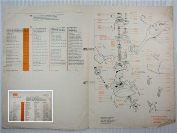 Solo Combi Hacke 527 Ersatzteilliste Spare Part List 1969