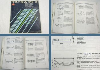 TATRA 815-2 LKW Spezialwerkzeug Katalog Special Tools Specialni Naradi