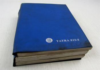 TATRA 815-2 Ersatzteilliste Ersatzteilkatalog Parts List 1992 in 3 Bänden
