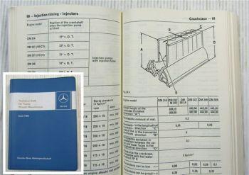 Mercedes Benz Technical Data for Trucks Issue 1968