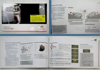 Citroen DS3 Betriebsanleitung Bedienungsanleitung 2011