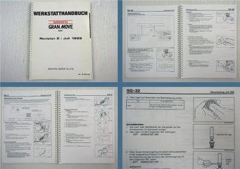 Werkstatthandbuch Daihatsu G301 1999 HD Motor Einspritzanlage Getriebe Elektrik