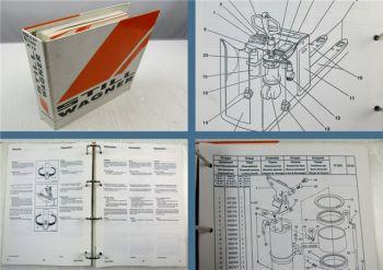 Still Wagner EGU-S20 EGU-S24 Betriebsanleitung Bedienung Ersatzteilliste 2000