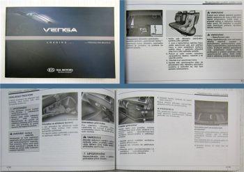 KIA Venga Prírucka pro majitele Svépomoc a údržba 2012