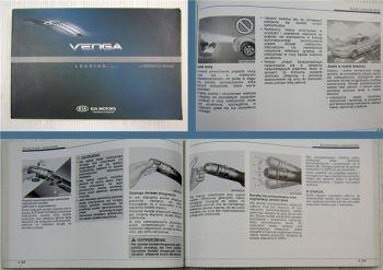 KIA Venga instrukcja obslugi Samopomoc i konserwacja 2011