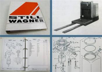 Still Wagner EK10 Kommissionierer Ersatzteilliste Ersatzteilkatalog Parts LIst