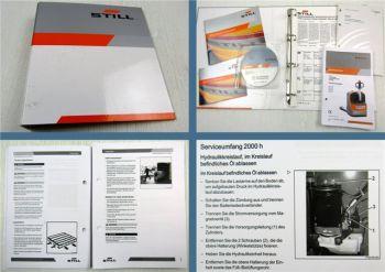 Still EXU16 18 20 22 Betriebsanleitung Bedienung Wartung Ersatzteilliste CD 2009