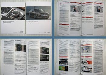 Audi A4 B9 Betriebsanleitung 11/2015 + MMI Navigation plus 11/2015