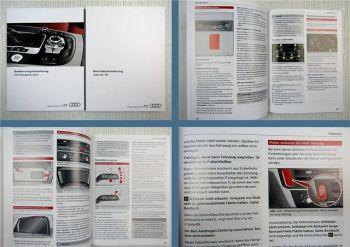Audi A6 S6 Betriebsanleitung 09/2014 + MMI Navigation plus 11/2014
