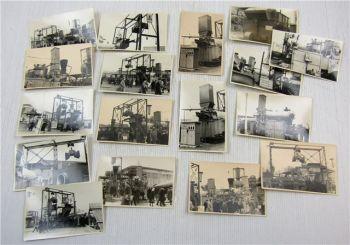 17 Fotos Messe Leipzig ca. 1960 Werkzeug Schwermaschinen BW Buckau Wolf