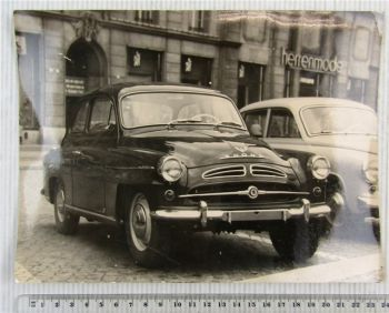 orig. Foto Skoda Octavia 445 Auto Oldtimer ca. 1960
