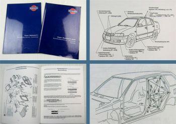Nissan Primera P11 + Kombi Karosserie Instandsetzung Werkstatthandbuch 1996/1998