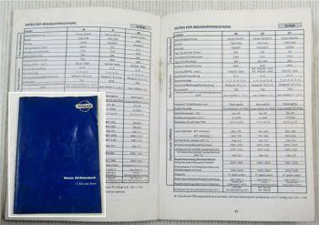 Nissan AU-Datenbuch G-Kat Diesel Almera Terrano Pathfinder Silvia ... 1993